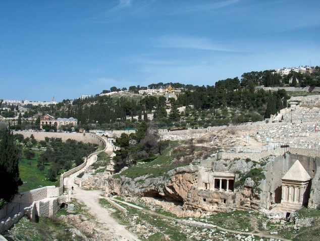Kedron Valley/Mount of Olives (photo credit: Henrik Bernhard on stock.xchng)